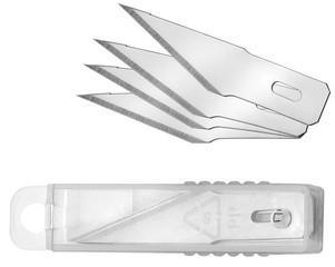 WESTCOTT Ersatzklingen für Skalpell / Bastelmesser, in Box