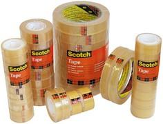Scotch Klebefilm 508, transparent, 19 mm x 10 m