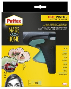 "Pattex Heißklebepistole HOT PISTOL ""Made at Home"""