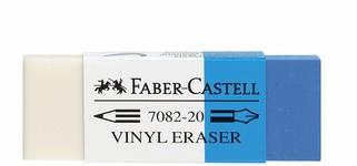 FABER-CASTELL Kunststoff-Radierer Kombi 7082-20