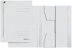 LEITZ Jurismappe, DIN A4, Colorspankarton 320 g/qm, weiß