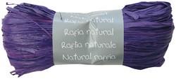 Raffia-Naturbast, pflaume
