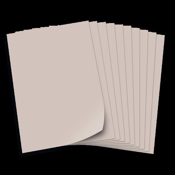 Tonpapier 130g/qm, DIN A3, 50 Bogen, hellgrau