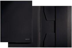 LEITZ Jurismappe, DIN A4, Colorspankarton 320 g/qm, schwarz