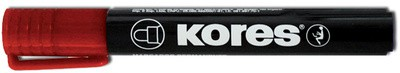 "Kores Permanent-Marker ""K MARKER"", Rundspitze, rot"