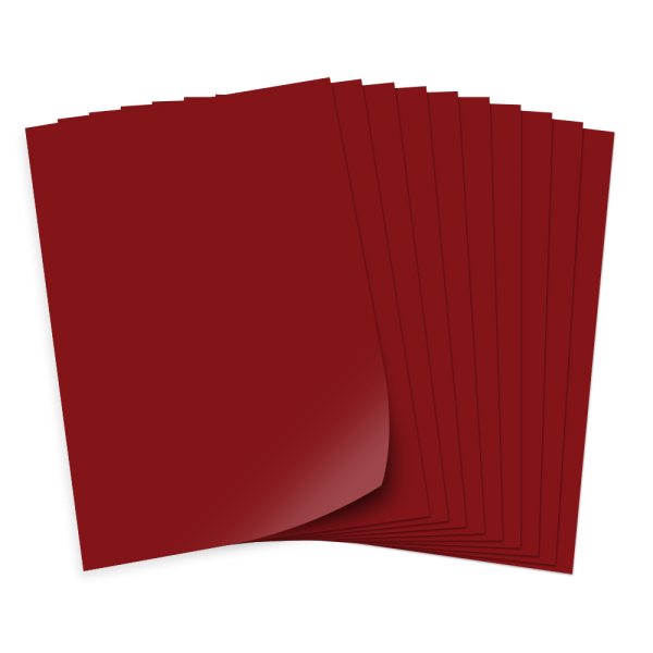 Bastelkarton 220g/qm, A4, 100 Bogen, rehbraun