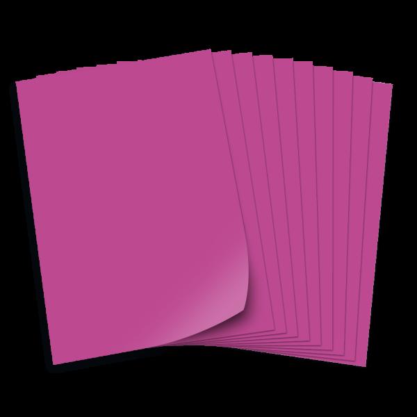Tonpapier 130g/qm, DIN A3, 50 Bogen, pink