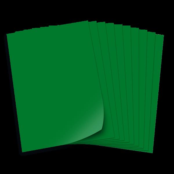 Tonpapier 130g/qm, DIN A3, 50 Bogen, tannengrün