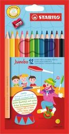 STABILO Buntstift Jumbo, sechseckig, 12er Karton-Etui