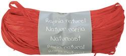 Raffia-Naturbast, rot