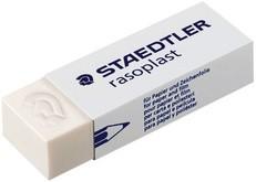 STAEDTLER Kunststoff-Radierer rasoplast B40, weiß