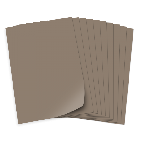 Tonpapier 130g/qm, DIN A3, 50 Bogen, steingrau