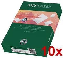 SKY LASER - B-Qualität - Druckerpapier, DIN A4, weiß, 10er Pack