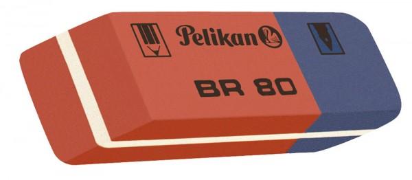 Pelikan Kautschuk-Radierer BR 80, (B)41 x (T)14 x (H)8 mm