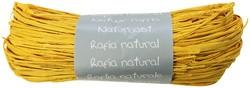 Raffia-Naturbast, zitronengelb