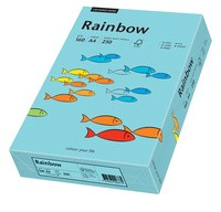 PAPYRUS Multifunktionspapier Rainbow, A4, 160 g/qm, mittelblau