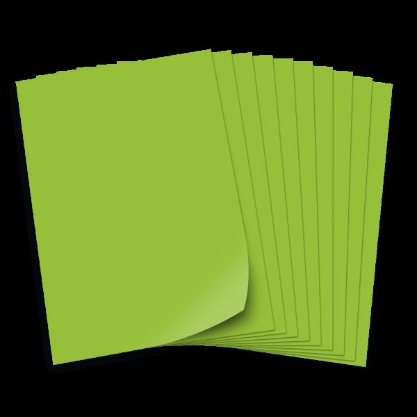Tonpapier 130g/qm, DIN A3, 50 Bogen, hellgrün