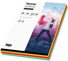 tecno Multifunktionspapier colors, A4, Intensivfarben
