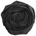 Krepp-Papier, (B)500 mm x (L)2,5 m, schwarz
