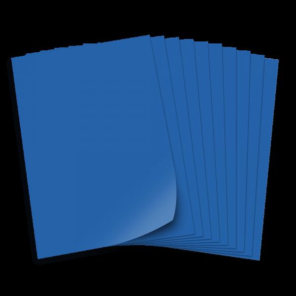 Tonpapier 130g/qm, DIN A3, 50 Bogen, königsblau