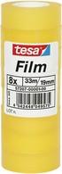 tesa Film standard, transparent, 12 mm x 33 m