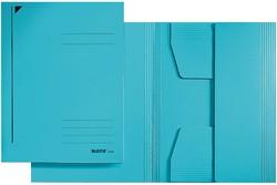 LEITZ Jurismappe, DIN A4, Colorspankarton 320 g/qm, blau