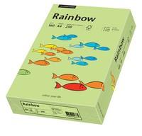 PAPYRUS Multifunktionspapier Rainbow, A4, 160 g/qm, leuchtend grün
