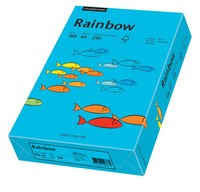 PAPYRUS Multifunktionspapier Rainbow, A4, 160 g/qm, blau