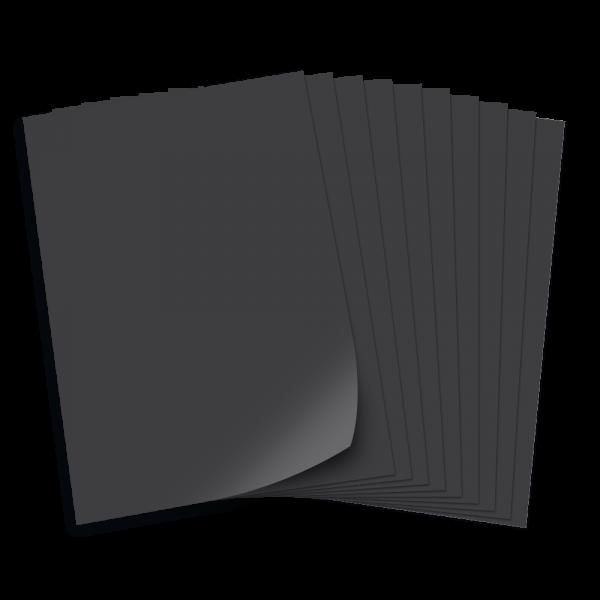 Tonpapier 130g/qm, DIN A4, 100 Bogen, schwarz