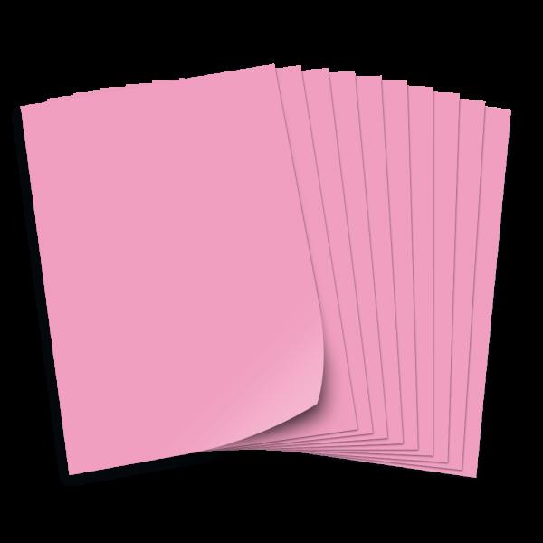 Tonpapier 130g/qm, DIN A3, 50 Bogen, rosa