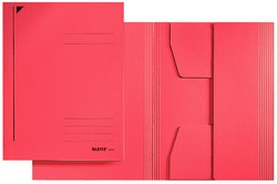 LEITZ Jurismappe, DIN A4, Colorspankarton 320 g/qm, rot