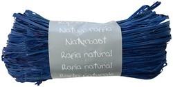 Raffia-Naturbast, tiefblau