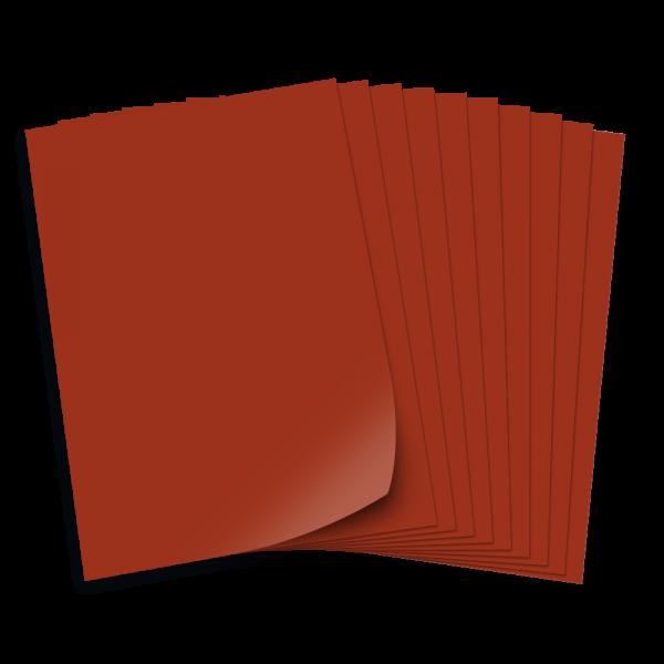 Tonpapier 130g/qm, DIN A3, 50 Bogen, schokobraun