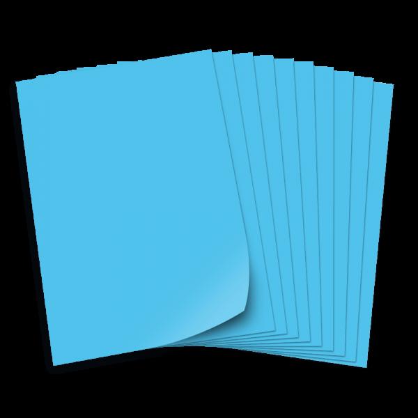 Tonpapier 130g/qm, DIN A3, 50 Bogen, pazifikblau