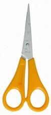 Bastelschere, spitz, farbig sortiert, Länge: 130 mm, für Rechtshänder