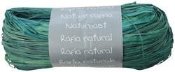 Raffia-Naturbast, türkis