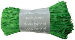 Raffia-Naturbast, tannengrün