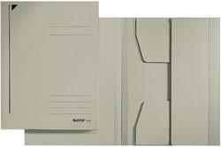 LEITZ Jurismappe, DIN A4, Colorspankarton 320 g/qm, grau