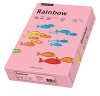 PAPYRUS Multifunktionspapier Rainbow, A4, 160 g/qm, rosa