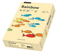 PAPYRUS Multifunktionspapier Rainbow, A4, 160 g/qm, chamois